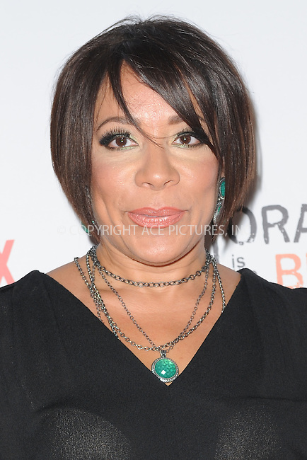 WWW.ACEPIXS.COM<br /> June 11, 2015 New York City<br /> <br /> Selenis Levya attending the 'Orangecon' Fan Event at Skylight Clarkson SQ on June 11, 2015 in New York City.<br /> <br /> Credit : Kristin Callahan/ACE Pictures<br /> Tel: (646) 769 0430<br /> e-mail: info@acepixs.com<br /> web: http://www.acepixs.com