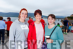 Emma and Sheila Leen (Ardfert) and Martha Spangler (Fenit) at the Fenit Regatta on Sunday..