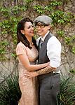 C.J. & Erica engagement in Old Town Pasadena, CA