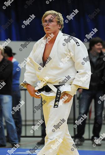 2010-10-23 / Judo / Vlaams Kampioenschap Herentals / Dylan Van Nuffel (boven)..Foto: Mpics
