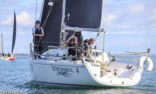 J97 Windjammer steered by Fireball ace Noel Butler
