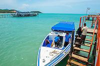 Thailand, Koh Samui Island, dock.