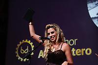 SÃO PAULO, SP, 06.06.2017- PREMIO-SP - Patricia Kimberly  durante a entrega do 4º Prêmio Sexy Hot para os destaques da indústria de filmes pornograficos brasileiro, na Estação São Paulo, na noite desta terça-feira, 06 (Foto: Adriana Spaca/Brazil Photo Press)
