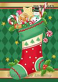 Janet, CHRISTMAS SYMBOLS, paintings+++++,USJS463,#XX#