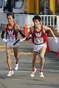 Shota Hiraga (Waseda-Univ), Yo Yazawa (Waseda-Univ), JANUARY 2, 2012 - Athletics : The 88th Hakone Ekiden Race Totsuka Relay place in Kanagawa, Japan. (Photo by Yusuke Nakanishi/AFLO SPORT) [1090]