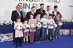 Real Madrid´s Institutional Relationships President Emilio Butragueno and players Isco, Sergio Ramos and Jese attend the `Ningun nino sin regalo´ campaign in Madrid, Spain. January 05, 2015. (ALTERPHOTOS/Victor Blanco)