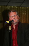 Guiding Light's Robert Newman performs at We Love Soaps Weekend on  May 21 and May 22 2010 at Villa Roma Resort in Callicoon, New York. (Photo by Sue Coflin/Max Photos)
