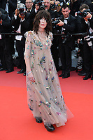 "CANNES, FRANCE. May 08, 2018: Isabelle Adjani at the gala screening for ""Everybody Knows"" at the 71st Festival de Cannes"