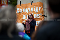 Jennifer Huseman (Member of Sacred Stone UK Solidarity Network).<br />