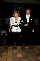 FILE -<br /> Jacques Parizeau<br /> et Lisette Lapointe en 1993<br /> <br /> <br /> PHOTO  : Pierre Roussel - Agence Quebec Presse
