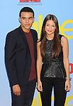 HOLLYWOOD, CA - SEPTEMBER 12: Jacob Artist and Melissa Benoist arrives at the 'GLEE' Premiere Screening And Reception at Paramount Studios on September 12, 2012 in Hollywood, California.
