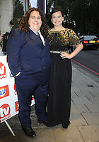 London - TV Choice Awards - sponsored by Daz - Outside arrivals at the Dorchester Hotel, Park Lane, London - September 10th 2012..Photo by Bob Kent..