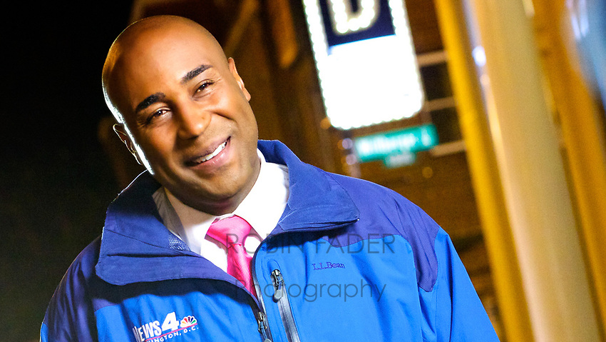 Portrait of Shomari Stone, Reporter for News4 Washington.