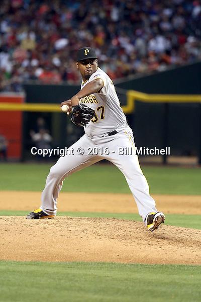 Arquimedes Caminero - 2016 Pittsburgh Pirates (Bill Mitchell)