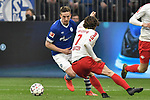 16.03.2019, VELTINS-Arena, Gelsenkirchen, GER, DFL, 1. BL, FC Schalke 04 vs RB Leipzig, DFL regulations prohibit any use of photographs as image sequences and/or quasi-video<br /> <br /> im Bild Matija Nastasic (#5, FC Schalke 04) Marcel Sabitzer (#7, RB Leipzig) <br /> <br /> Foto © nph/Mauelshagen