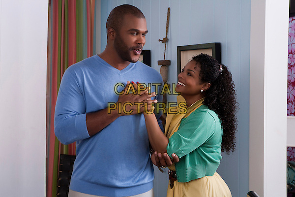 TYLER PERRY & JANET JACKSON.in Why Did I Get Married Too? .*Filmstill - Editorial Use Only*.CAP/FB.Supplied by Capital Pictures.