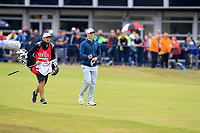 Alex Noren (SWE) on the 18th during final round of The Open Championship 146th Royal Birkdale, Southport, England. 23/07/2017.<br /> Picture Fran Caffrey / Golffile.ie<br /> <br /> All photo usage must carry mandatory copyright credit (&copy; Golffile | Fran Caffrey)