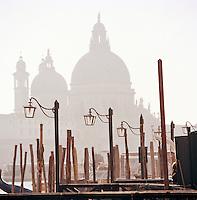 Basilica di Santa Maria della Salute, St Mary of Health, Venice, Italy