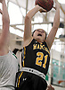 Julia Wilkinson #21 of Wantagh shoots from inside the paint during a non-league varsity girls basketball game against host Seaford High School on Friday, Dec. 29, 2017. Seaford won by a score of 65-56.