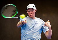 Alphen aan den Rijn, The Netherlands, 25 Januari 2019, ABNAMRO World Tennis Tournament, Supermatch, Zachary Eisinga (NED)<br /> Photo: www.tennisimages.com/Henk Koster