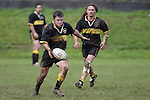 B. Tribe looks to get ahead.  Counties Manukau Premier 2 Championship game between Bombay and Papakura played at Bombay on May 13th, 2006. Papakura won 8 - 7.