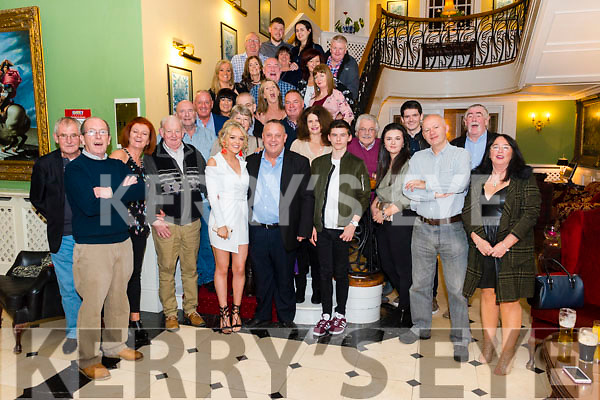 Michael O'Grady from Killarney celebrated his 60th birthday surrounded by friends and family in the Dromhall Hotel, Killarney last Friday night.