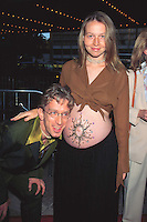 """©KATHY HUTCHINS/HUTCHINS.6/9/97 """" SPEED 2 """" PREMIERE.ANDY DICK & GIRLFRIEND LINA"""