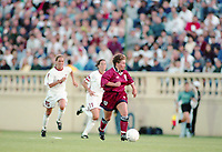 SAN JOSE, CA - MAY 09:  during a game between England and USWNT at Spartan Stadium on May 09, 1997 in San Jose, California.