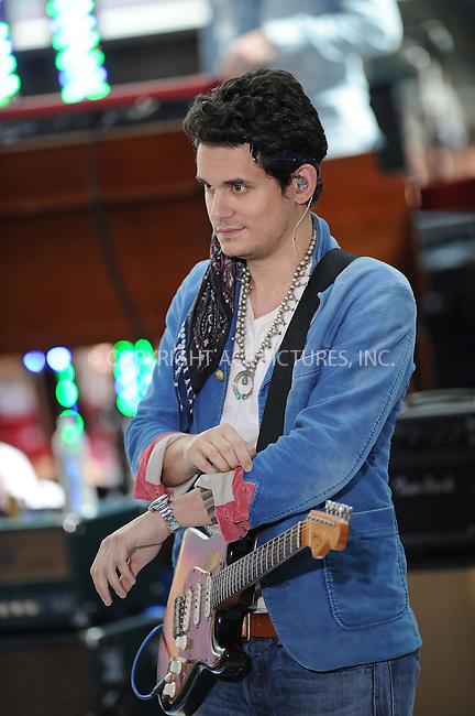 WWW.ACEPIXS.COM . . . . . <br /> July 5, 2013...New York City....John Mayer performing on NBC Today on July 5, 2013 in New York City. ....Please byline: KRISTIN CALLAHAN - WWW.ACEPIXS.COM.. . . . . . ..Ace Pictures, Inc: ..tel: (212) 243 8787 or (646) 769 0430..e-mail: info@acepixs.com..web: http://www.acepixs.com