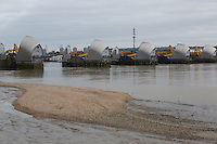 Thames Barrier closes