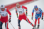 HOLMENKOLLEN, OSLO, NORWAY - March 16: (39) Tord Asle Gjerdalen of Norway (NOR) during the Men 50 km mass start, free technique, at the FIS Cross Country World Cup on March 16, 2013 in Oslo, Norway. (Photo by Dirk Markgraf)