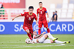 Pham Duc Huy of Vietnam in action during the AFC Asian Cup UAE 2019 Group D match between Vietnam (VIE) and I.R. Iran (IRN) at Al Nahyan Stadium on 12 January 2019 in Abu Dhabi, United Arab Emirates. Photo by Marcio Rodrigo Machado / Power Sport Images
