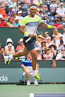 RAFAEL NADAL (ESP)<br /> <br /> Tennis - BNP PARIBAS OPEN 2015 - Indian Wells - ATP 1000 - WTA Premier -  Indian Wells Tennis Garden  - United States of America - 2015<br /> &copy; AMN IMAGES