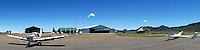 Flugplatz Gariepdam: AFRIKA, SUEDAFRIKA, FREE STATE, 11.01.2014: Flugplatz Gariepdam