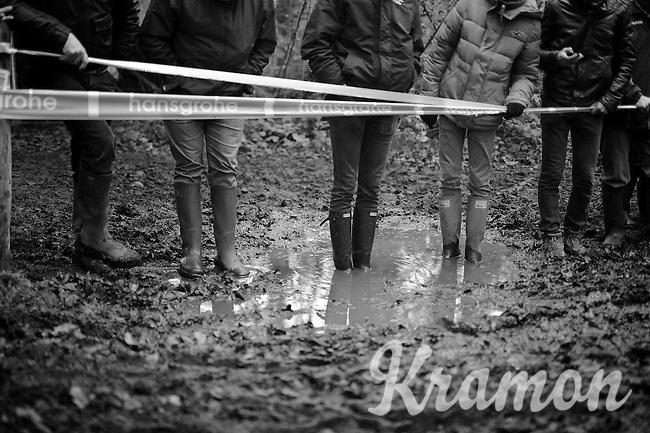 mud fans<br /> <br /> Superprestige Gavere 2014