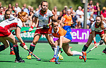 BLOEMENDAAL - tijdens de tweede Play Out wedstrijd hockey dames, Bloemendaal-MOP (5-1)  COPYRIGHT KOEN SUYK