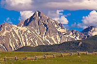 The Dallas Divide (Sneffels Range in back), near RIdgway, Colorado USA