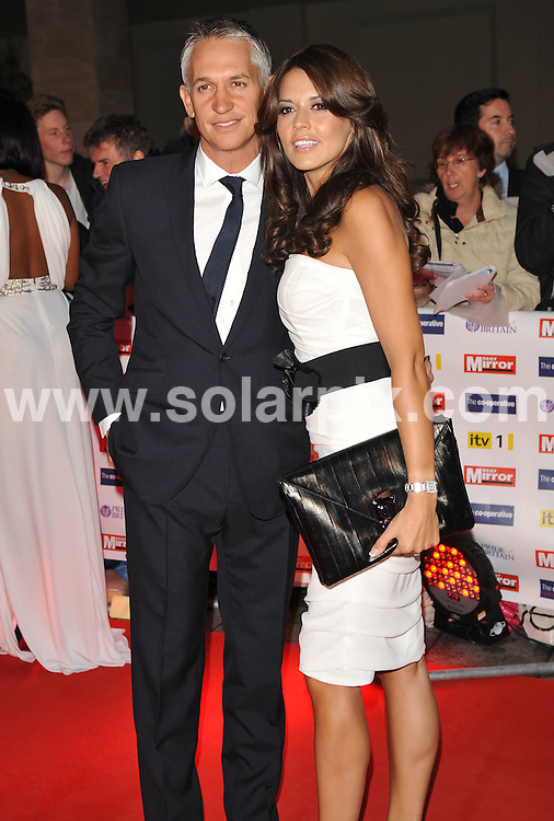 **ALL ROUND PICTURES FROM SOLARPIX.COM**.**WORLDWIDE SYNDICATION RIGHTS**.Red carpet arrivals at the Pride Of Britain Awards. Held at Grosvenor House, Mayfair, London, UK. 5 October 2009...This pic: Gary Lineker and Danielle Bux..JOB REF: 10066 SSD     DATE: 05_10_2009.**MUST CREDIT SOLARPIX.COM OR DOUBLE FEE WILL BE CHARGED**.**MUST NOTIFY SOLARPIX OF ONLINE USAGE**.**CALL US ON: +34 952 811 768 or LOW RATE FROM UK 0844 617 7637**