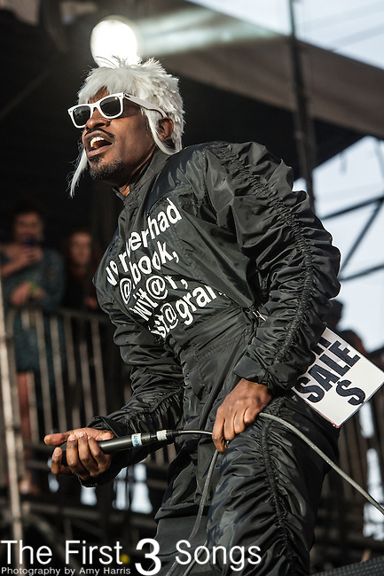André 3000 of Outkast performs at the 2nd Annual BottleRock Napa Festival at Napa Valley Expo in Napa, California.