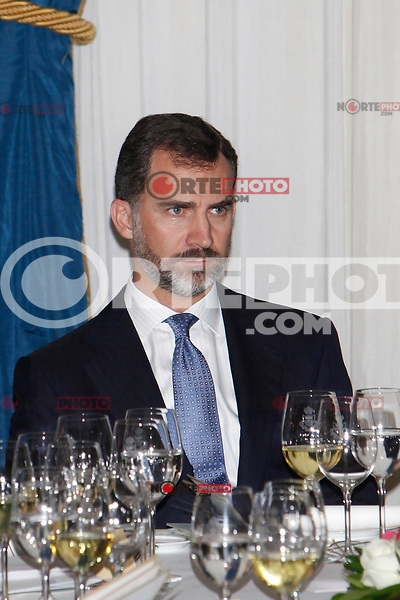 Prince Felipe of Spain attend the 'Francisco Cerecedo Journalism Award' ceremony at the Ritz Hotel in Madrid. November 20, 2012. (ALTERPHOTOS/Caro Marin) /NortePhoto