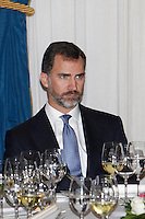 Prince Felipe of Spain attend the 'Francisco Cerecedo Journalism Award' ceremony at the Ritz Hotel in Madrid. November 20, 2012. (ALTERPHOTOS/Caro Marin) /NortePhoto