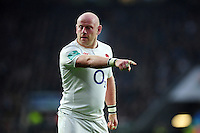Dan Cole of England. Old Mutual Wealth Series International match between England and South Africa on November 12, 2016 at Twickenham Stadium in London, England. Photo by: Patrick Khachfe / Onside Images