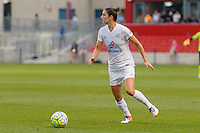 Chicago, IL - Saturday July 30, 2016: Yael Averbuch during a regular season National Women's Soccer League (NWSL) match between the Chicago Red Stars and FC Kansas City at Toyota Park.