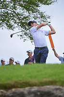 Justin Thomas (USA) watches his tee shot on 3 during day 5 of the World Golf Championships, Dell Match Play, Austin Country Club, Austin, Texas. 3/25/2018.<br /> Picture: Golffile | Ken Murray<br /> <br /> <br /> All photo usage must carry mandatory copyright credit (&copy; Golffile | Ken Murray)