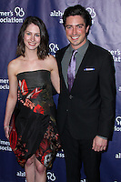 "BEVERLY HILLS, CA, USA - MARCH 26: Michelle Mulitz, Ben Feldman at the 22nd ""A Night At Sardi's"" To Benefit The Alzheimer's Association held at the Beverly Hilton Hotel on March 26, 2014 in Beverly Hills, California, United States. (Photo by Xavier Collin/Celebrity Monitor)"