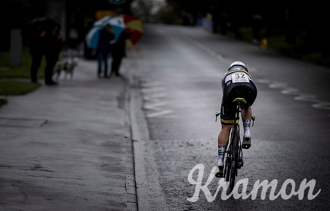 Amanda Spratt (AUS/Mitchelton-Scott)<br /> Elite Women Individual Time Trial<br /> <br /> 2019 Road World Championships Yorkshire (GBR)<br /> <br /> ©kramon