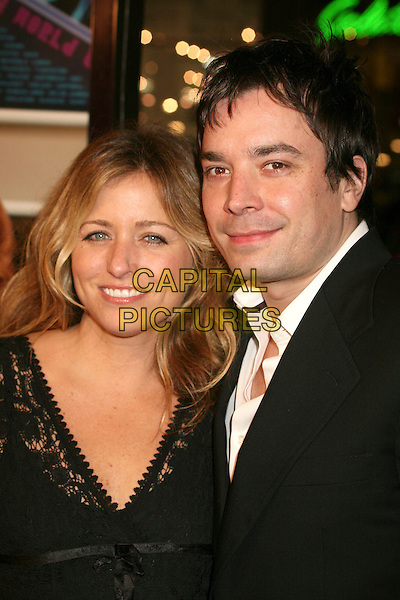 "NANCY JUVONEN & JIMMY FALLON.""Music and Lyrics"" Los Angeles Premiere at Grauman's Chinese Theatre, Hollywood, California, USA..February 7th, 2007.headshot portrait .CAP/ADM/BP.©Byron Purvis/AdMedia/Capital Pictures"