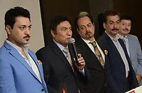 Los Tigres de Norte, durante rueda de prensa de esta tarde jueves 2 de Mayo 2019 en Hermosillo Sonora. (Fotos: Javier Sandoval/Nortephoto.com )
