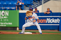St. Lucie Mets first baseman Matt Winaker (21) during a Florida State League game against the Florida Fire Frogs on April 12, 2019 at First Data Field in St. Lucie, Florida.  Florida defeated St. Lucie 10-7.  (Mike Janes/Four Seam Images)
