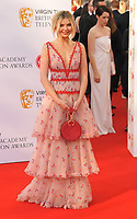 Georgia Toffolo at the Virgin TV British Academy (BAFTA) Television Awards 2018, Royal Festival Hall, Belvedere Road, London, England, UK, on Sunday 13 May 2018.<br /> CAP/CAN<br /> &copy;CAN/Capital Pictures